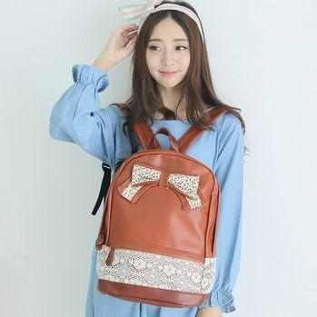 Lather Backpack Hipster Backpack Gi..